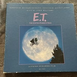 E.T. lp narrated by Michael Jackson